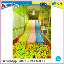 Baby jumping playing indoor children entertainment slider
