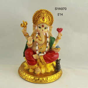 Polyresin indian hindu god murti figurines for sale