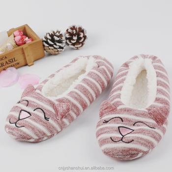 2017 New Design Istoner Ballerina Slippers Ballet Bedroom Sole
