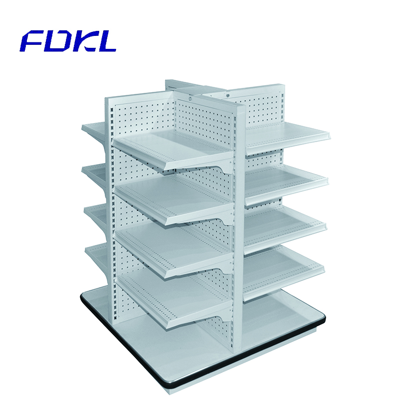 Convenience custom business promotion pop display stand floating shelves