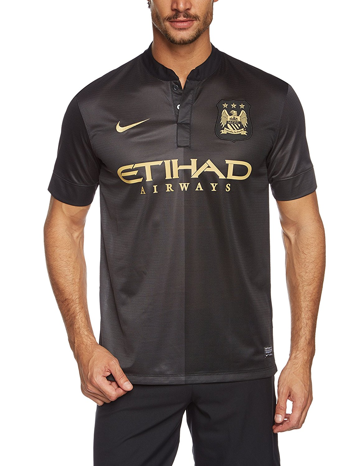 c6982a2c6 Get Quotations · Manchester City Away Jersey 2013   2014