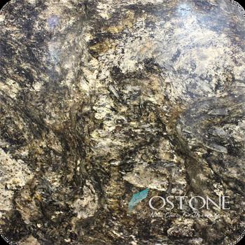 Gold Silver Marble Granite Stone