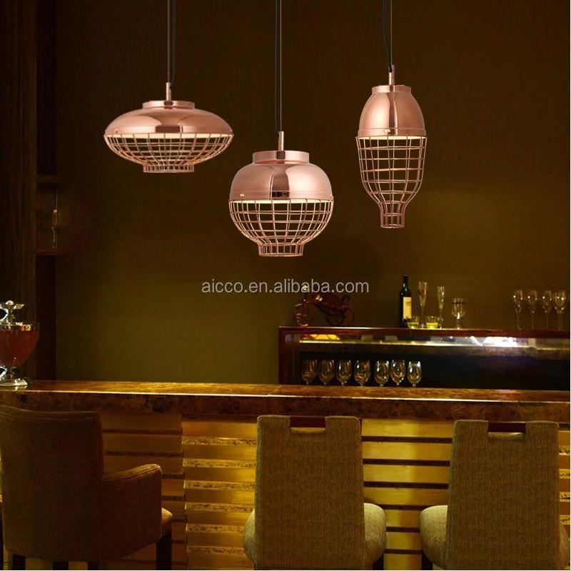 Luminaire Lumière Couleur Moderne Suspension led Cuivre Métal Suspendue En Suspendu Designer Pendentif Décoratif Buy Décorative bf67gIYyv