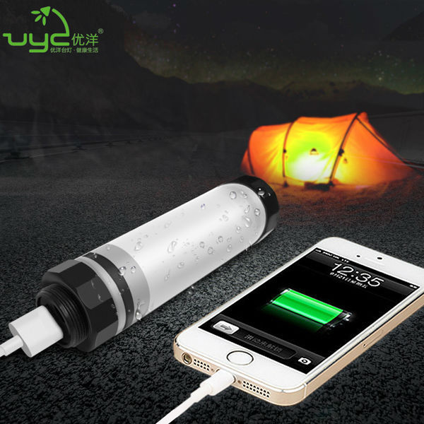 Uy-q7m Rechargeable Battery Operated Led Tent Light With Remote ...