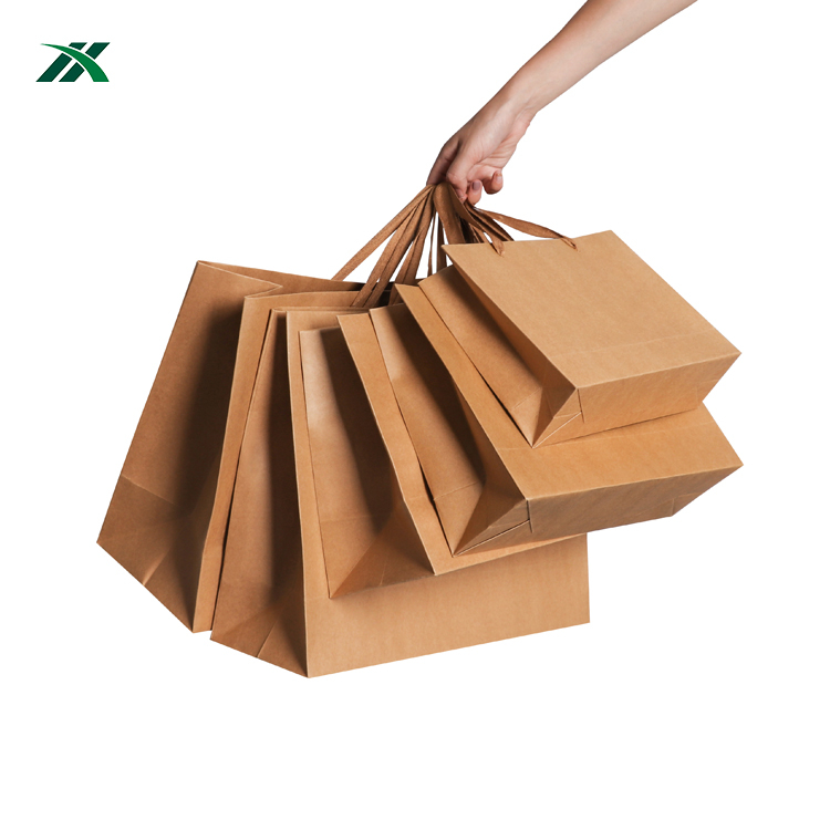 Competitive price eco friendly kraft paper bag for jewelry/cosmetic/apparel