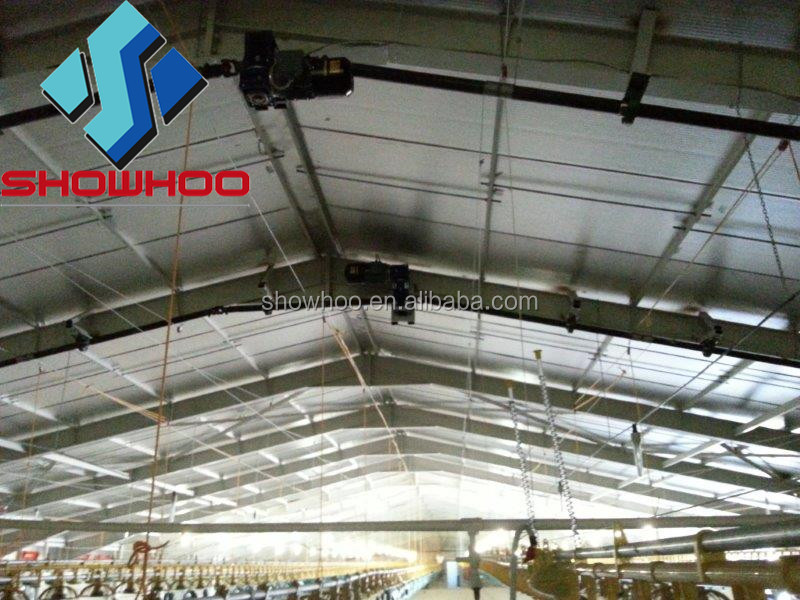 Commercial Chicken House commercial chicken houses from china factory-steel structure