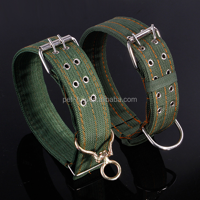 Pet Collar Army Green Apply only to Large Xlarge Premium <strong>Dogs</strong> Adjustable Size