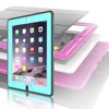 Leather Case And TPU Back Cover Case Smart Cover For iPad 2 3 4 Screen Protector Case