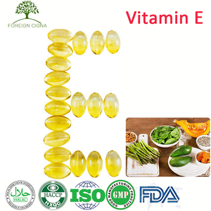 Manufacturer GMP Natural 500 mg Food Supplement Vitamin E Capsules