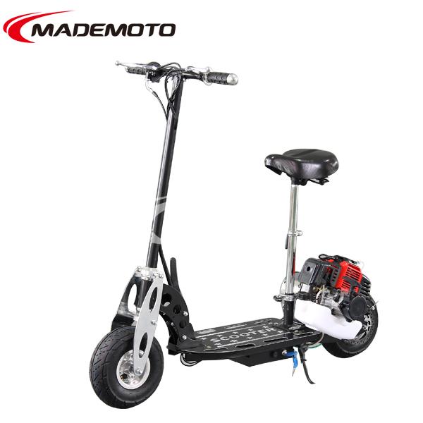 2 Wheel 49cc Gas Motor Scooter Petrol Skate Board - Buy ...