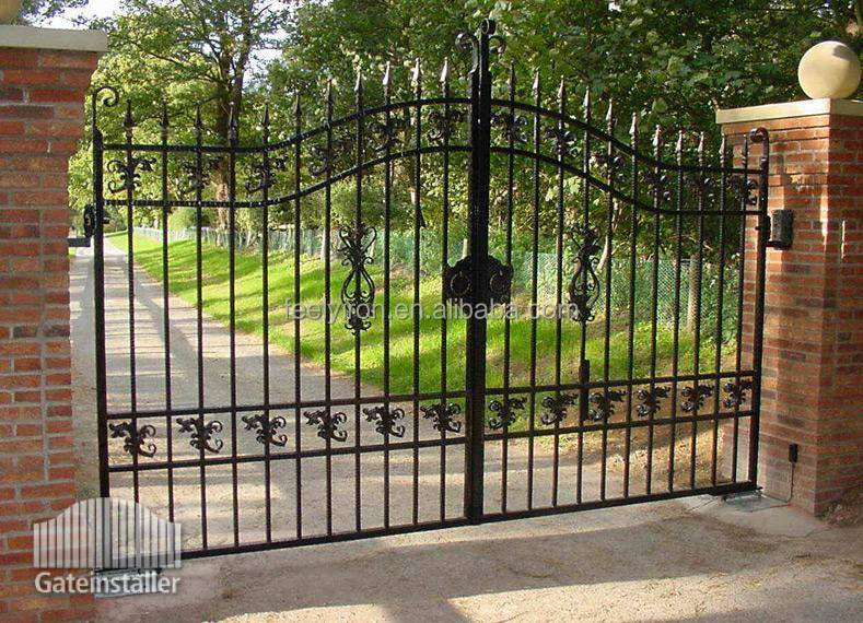 wrought iron security gate FG-111
