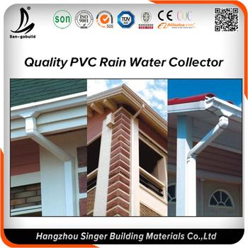 Kenya Malaysia Pvc Gutter Price Never Fade Pvc Rain