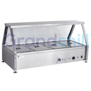 Small Fast Food Restaurant Hot Food Warmer Buffet Set Server Buffet Table