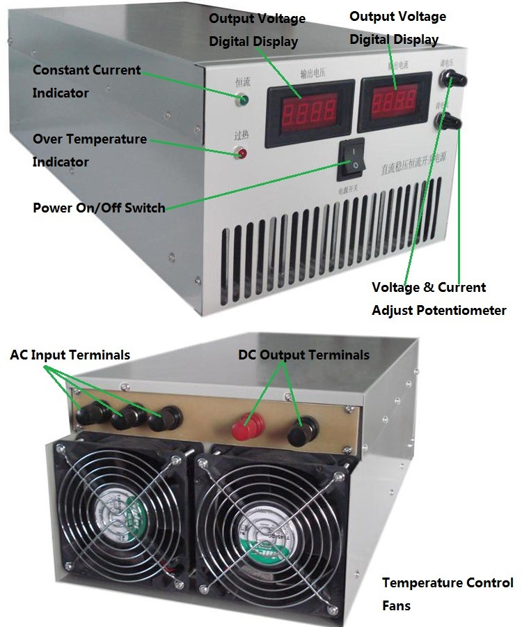 dc 300 amps power supply