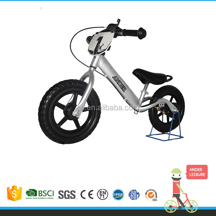 12 inch Aluminum Alloy Balance Bike CE Approved Kick Bike Kids Bike