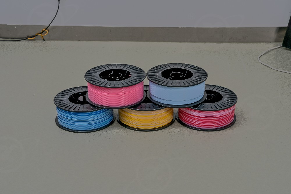 HY-005 Different color small size ptfe coil ptfe tubing