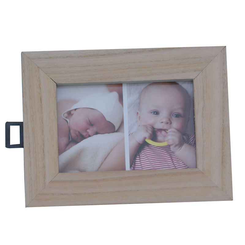 Handmade wooden box photo frame for sale