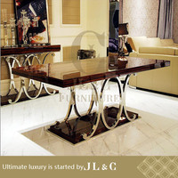 Dining table from China furniture factory JL&C furniture lastest designs 2014 for China furniture