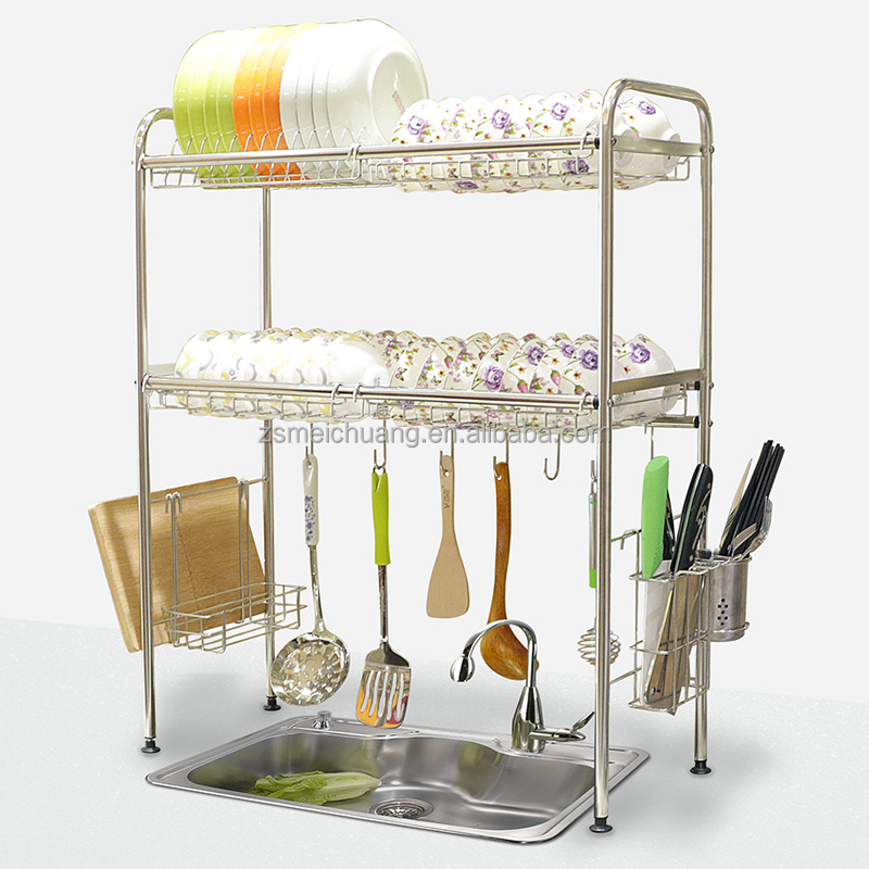 High Quality Stainless Steel Kitchen Storage Over The Sink Dish Drying Rack  - Buy Dish Rack,Sink Dish Rack,Over Sink Dish Rack Product on Alibaba com