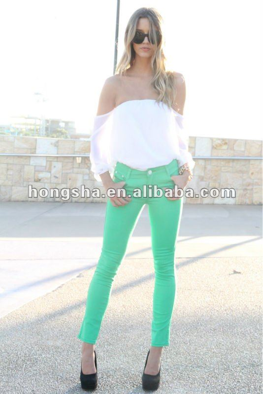 Apple Green Jeans HGS607