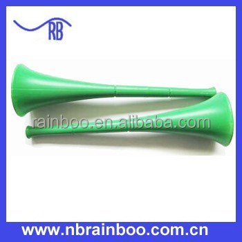 Hot selling worldcup cheap plastic football fan vuvuzela plastic trumpet ABMA213
