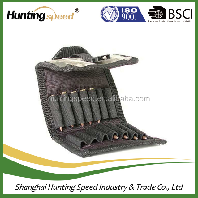 1000D 7 Round Tactical gun Stock Shell Holder Ammo Carrier Hunting Pouch  Strip