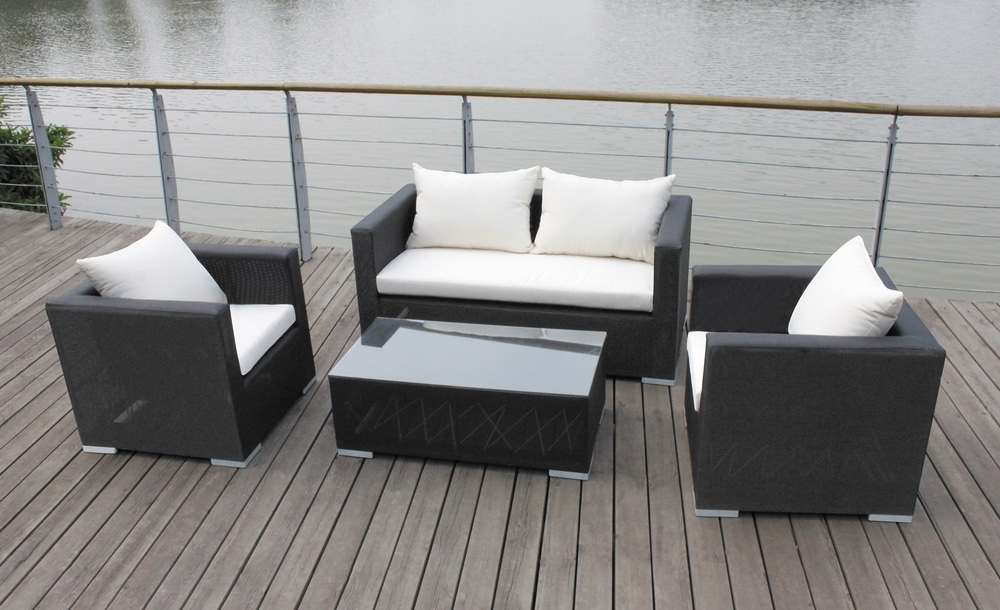 Superior Wilson And Fisher Patio Furniture Rattan Wicker Outdoor Sofa Set