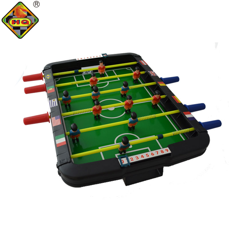 kids soccer foosball table top sports game set