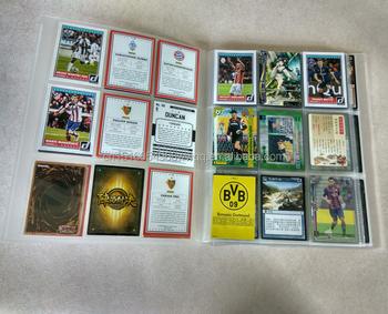 Clear trading cards binder 9 pockets pokemon sleeve yugioh binder clear trading cards binder 9 pockets pokemon sleeve yugioh binder business cards holder colourmoves