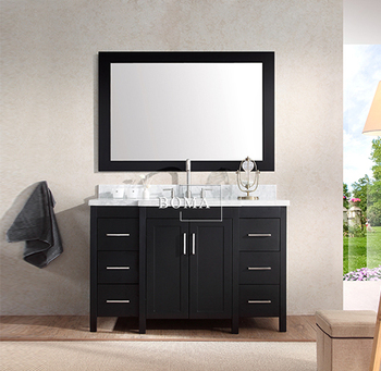Superb Boma BMC C0348 BLK Bathroom Washbasin Cabinet Design For Small Bedroom