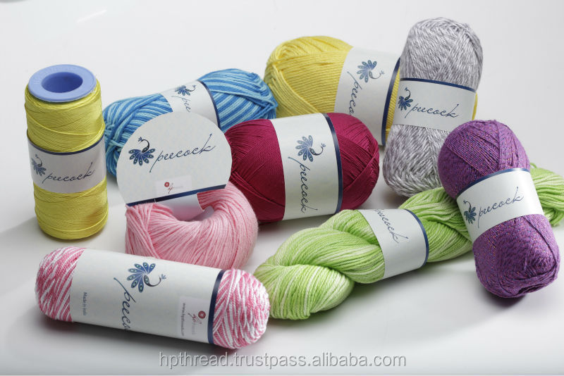 Combed Cotton Gassed Mercerised Knitting Yarn