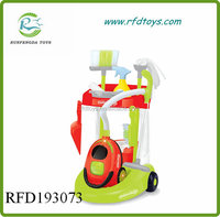 ABS cleaning set trolley cart sanitary ware toys for kids sanitary ware cart