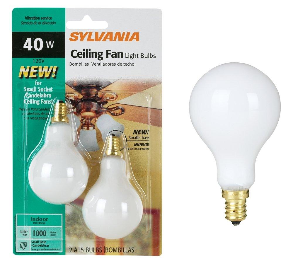 Buy Syl Celing Fan Bulb 40w Size 2ct Syl Celing Fan Bulb 40w