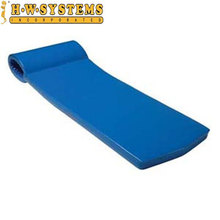 Promotional PVC/NBR foam vinyl coated foam pool float with BV certificed