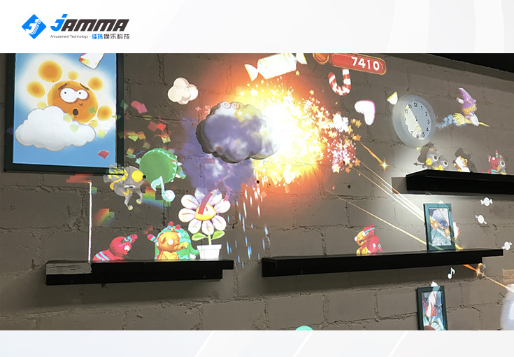 Factory Price Magic Interactive Wall Projection Game With Customized Video