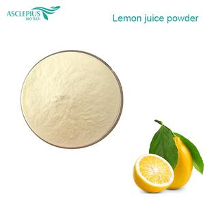 Natural organic lemon extract freeze dried lemon juice powder
