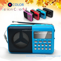 Colorful classical outdoor radio,fm radio speaker Y-888 MP3 player radio