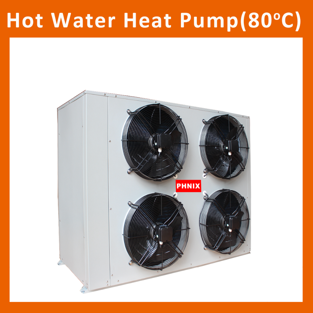 10P EVI High Temp Hot Water for 80 C Hot Water-Air Source Heat Pumps