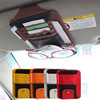 Hot sale Xitai Car accessories pu leather fashion car sun visor pocket art.-no. c06
