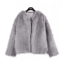 2015 New Winter Women Warm Faux Fur Coat Women Vintage Mink Fox Jacket 10 Colors Size S M L XL Fast Shipping
