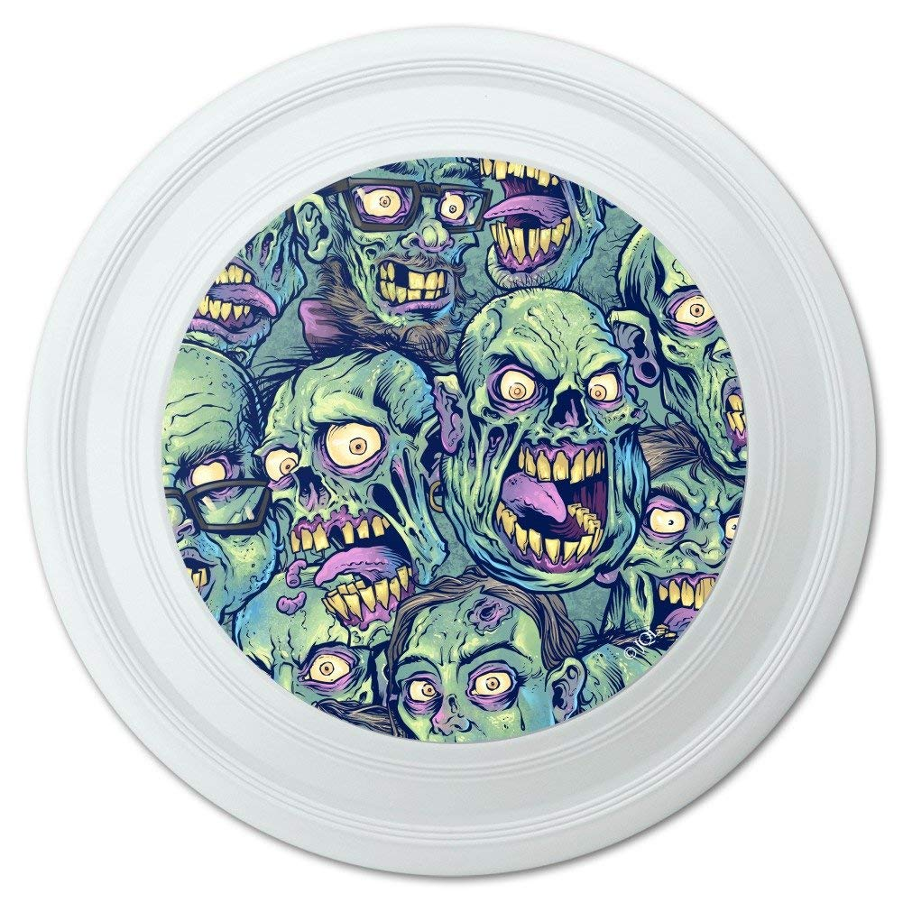 """Graphics and More Zombie Pattern Dead Corpses Undead Horror Novelty 9"""" Flying Disc"""
