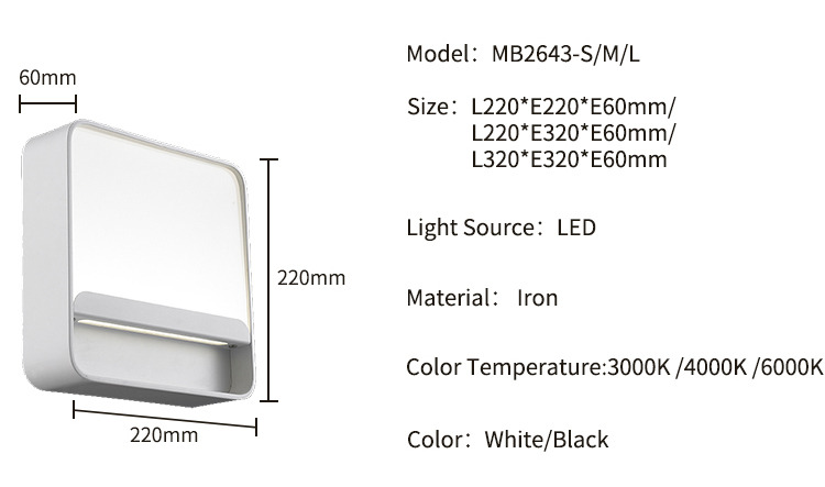 Aluminium 5W Sconce Multicolor Art Lighting Fixtures Led Wall Light
