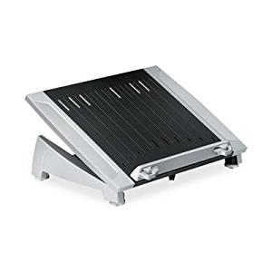 FELLOWES MANUFACTURING 8036701 Office Suites Laptop Riser Plus, Copyholder, 15 1/8 x 11 3/8 x 6 1/2, Black