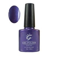 red purple black dark colors gel nail polish