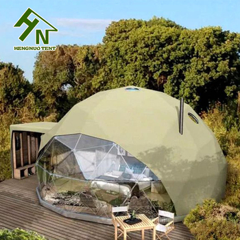 Steel Tube Frame Yurt Tent Geodesic Dome South Africa Prefab Dome