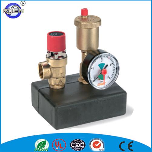 Brass Water Temperature Control Valve Mixing Valve Temperature ...
