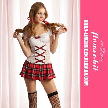46d29d12d 2017 Halloween Lovely Sexy School Girl Uniform Fancy Dress Outfit ...