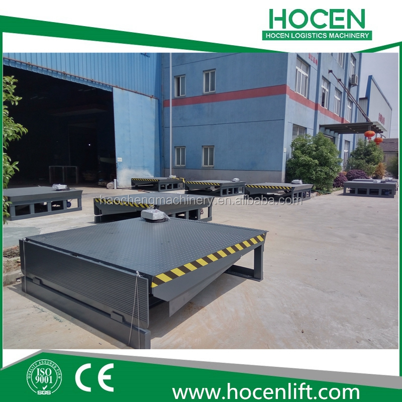 Nice Price Warehouse Electric Lifting Platform Hydraulic Container Unloading And Loading Dock Ramp For Sale