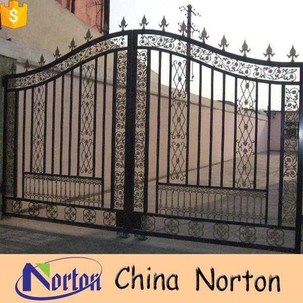 lateral doble de hierro puertas de entrada de hierro forjado artesana ntirgy