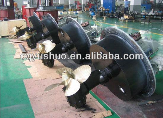 Marine Z Drive Rudder Propeller/azimuth Thruster - Buy ...